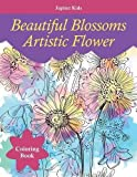 Best Jupiter Kids Kid Books For 4 Year Olds - Beautiful Blossoms Artistic Flower Coloring Book Review