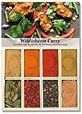 Wildschweincurry – 8 Gewürze für Wildschwein mit Currysauce (46g) – in einem schönen Holzkästchen – mit Rezept und Einkaufsliste – Geschenkidee für Männer und Feinschmecker – von Feuer & Glas