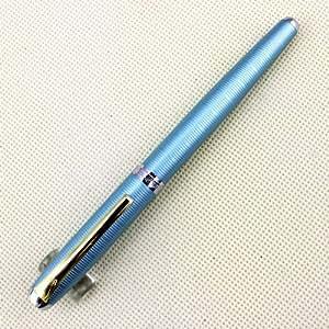 Stylo plume HERO 9300 gaufreavec support durable Iridium Nib boîte de stylo bleu + originale