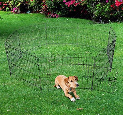 Pawhut -Recinto per Gatti Cani Cuccioli Gabbia