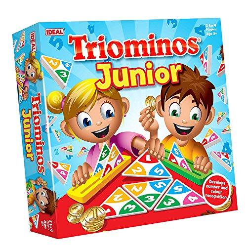 John Adams 10457Triominos Junior Farbe Match Spiel