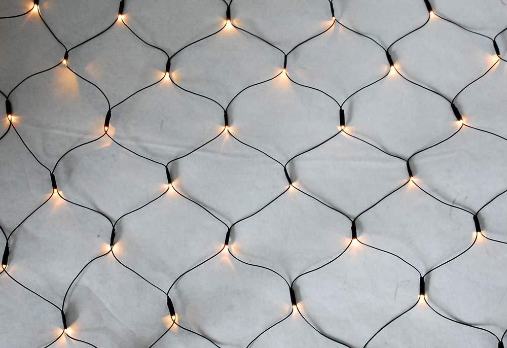 Style-home-LED-Lichternetz-Lichterkette-32-15m-8-Leuchtmodi-Timer-Funktion-Indoor-Outdoor-Lichter-fr-Party-Weihnachten-Hochzeit-Garten-Festival-Warmwei-IP44