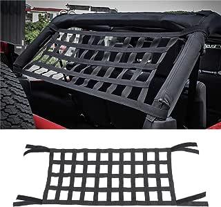 Dyda6 Filet de Coffre en Maille /élastique pour Jeep Wrangler YJ TJ JK JKU JL JLU 07-18