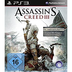 Assassin's Creed 3 – Bonus Edition (100% uncut) – [PlayStation 3]