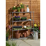Efecto invernadero con estantería estante–Ideal para propagación de semillas, cultivo de plantas y pantalla.