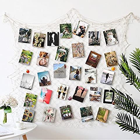 RECESKY Foto hängende Anzeige, Bilderrahmen Wanddekoration, Fotorahmen Collage (Große Wand-dekor)