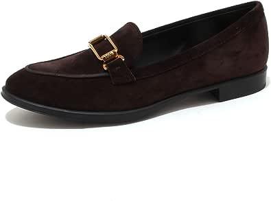 Tod's 4204P Mocassino Donna Scarpa Marrone Shoe Woman