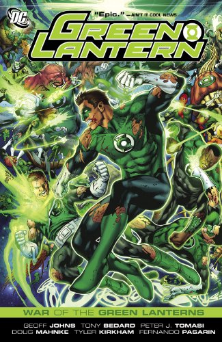 Green Lantern: War of the Green Lanterns (English Edition)