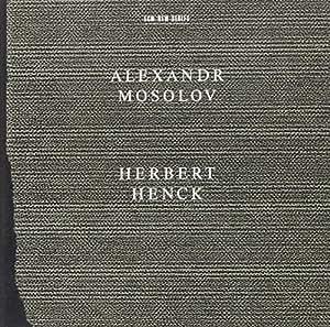 Mosolov - Piano Sonatas Nos 2 and 5; Two Nocturnes