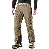 TSLA Men's Winter Snow Trousers, Waterproof Insulated Ski Pants, Ripstop Windproof Snowboard Bottoms