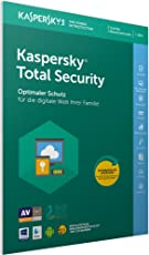Kaspersky Total Security 2018 Standard | 3 Geräte | 1 Jahr | Windows/Mac/Android | Download