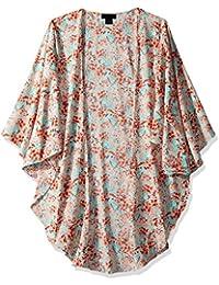Steve Madden Womens Spring Breeze Lux Kimono