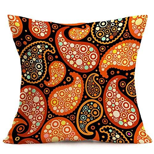 Jamicy Moda lino Bohemian Pattern Home Decor cuscino cuscino copriauto F