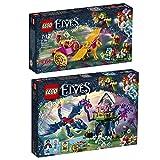LEGO Elves 2er Set 41186 41188 Azari und die Flucht aus dem Kobold-Wald + Ausbruch aus der Festung des Kobold-König