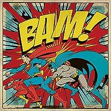 DC Comics BAM. lienzo impresiones, multicolor, 40x 40cm