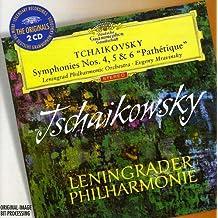 """Tchaikovsky : Symphonies n° 4,  n° 5 et n °6 """"Pathétique"""""""
