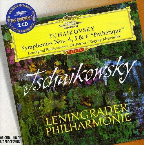 """Tchaikovsky : Symphonies n° 4, n° 5 et n °6 """"Pathétique"""
