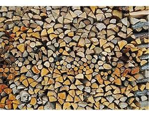 fototapete papier firewood 400x280cm holz brennholz holzwand kamin baum natur. Black Bedroom Furniture Sets. Home Design Ideas