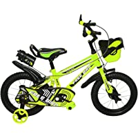 """Free Bird 14"""" Tyres BMX Kids Cycles for 3 to 5 Years Age (Green)"""