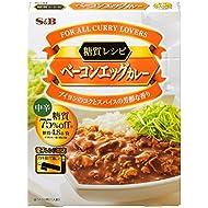 S&B Sugar Recipe Bacon Egg Curry Medium Spicy 150 g × 6 Japan