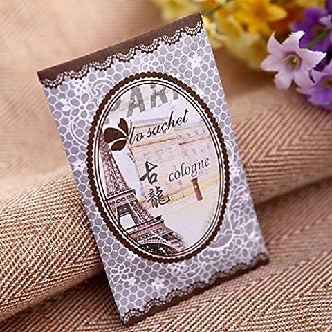 1 HuaYang/7 sabor perfumado fragancia burrda pieperconcept cajón coche Perfume bolsa de bolsita (Colonia) Mini