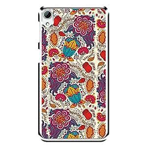 "Bhishoom Designer Printed 2D Transparent Hard Back Case Cover for ""HTC Desire 826"" - Premium Quality Ultra Slim & Tough Protective Mobile Phone Case & Cover"