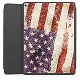 DeinDesign Apple iPad Pro 12.9 (2017) Smart Case schwarz Hülle mit Ständer Schutzhülle United States Of America Ameri