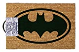 Batman Logo - Fußmatte, Größe: 60 x 40 cm, Material Kokosfaser/PVC