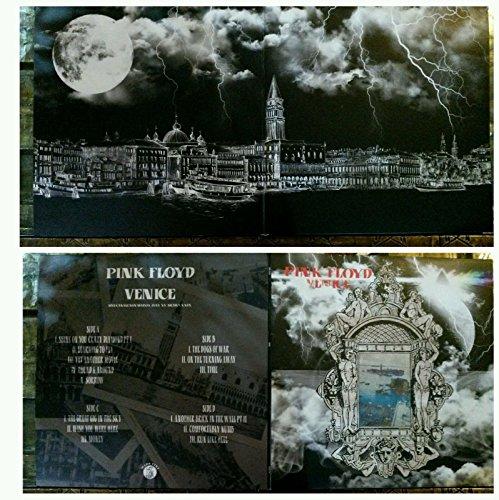 PINK FLOYD VENICE 2 LP live canale san marco