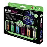 Face & Body Paint Kit Adulti Glow In The Dark Paintglow (Multicolore) - Unica Misura