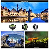 Generic AUKEY PL-A1 3-In-1 Clip-on Lens Set with 180 Degree Fisheye + 0.67X