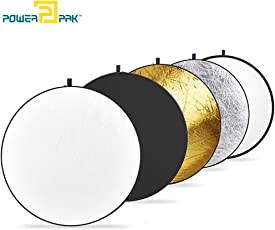 "Powerpak 5-In-1 Collapsible Photo Light Reflector 42"" (110 Cm)"