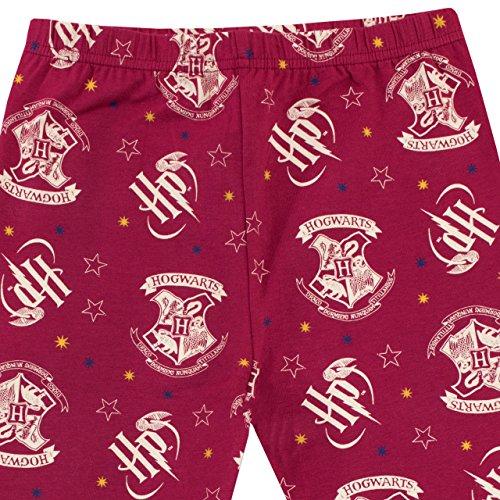 61rJd7eJDLL - Harry Potter Pijama para Niñas Hogwarts Ajuste Ceñido Multicolor 12-13 Años