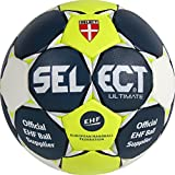 Select Ultimate Ballon de Handball Bleu/Jaune/Blanc, 2, 1611854250