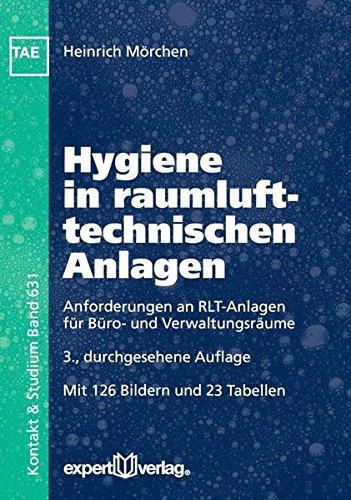 Hygiene in raumlufttechnischen Anlagen: Anforderungen an RLT-Anlagen für Büro- und Verwaltungsräume (Kontakt & Studium)