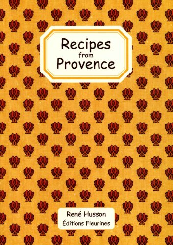 Recipes from Provence, France (french cooking) english book