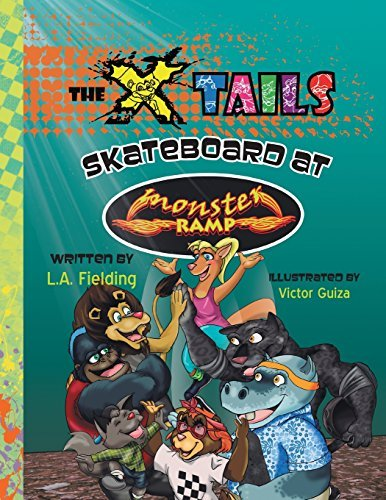 The X-tails Skateboard at Monster Ramp by L.A. Fielding (May 08,2014) par L.A. Fielding