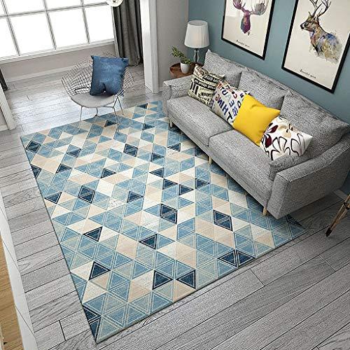Max tappeto rettangolare nordico per divano da salotto tappeto coperta da tavolo da tè lavabile - spessore 8mm home (dimensioni : 200x300cm)