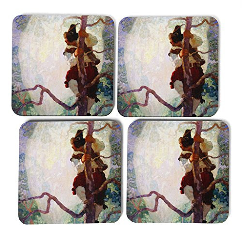 big-box-art-n-c-wyeth-fantasy-coasters-multi-colour-9-x-9-cm-set-of-4