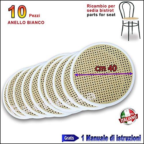 Asiento de rejilla de repuesto para silla de PVC(modelos:Bistrot, Vienna, Thonet)