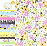 Doodlebug Doodlebug Paper Plus Value Pack 12Zoll x 12Zoll 1-floral, andere, mehrfarbig