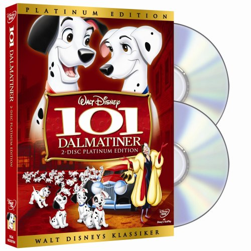101 Dalmatiner (Platinum Edition) [Special Edition] [2 DVDs] 101 Dalmatiner Disney Dvd