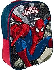 Star Licensing Marvel Spiderman Zainetto Piccolo Zainetto per bambini, Multicolore