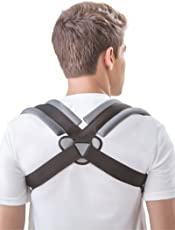 Dyna Clavicle Correction Belt with ! Clavicle Brace for Collar-bone Injury Support ! Ideal for clavicle fractures and postural problems (M)