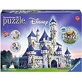 Ravensburger - 12587 - Puzzle - 3D Château Disney - 216 Pièces