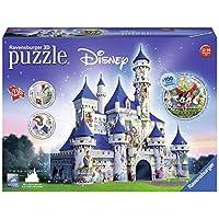 Ravensburger-12587-3D-Puzzle-Disney-Schloss Ravensburger 12587 3D-Puzzle Disney Schloss - Start -