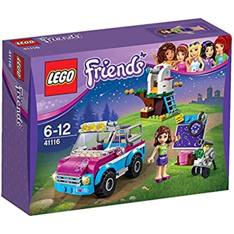LEGO - Coche de exploradora de Olivia, multicolor (41116)