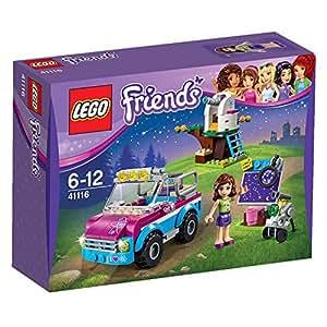 LEGO - 41116 - Friends - Jeu de Construction - La Voiture d'Exploration d'Olivia