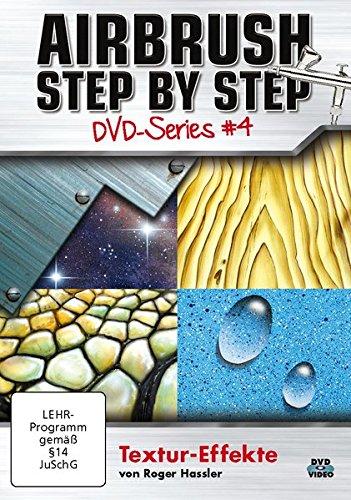 Airbrush Step by Step DVD-Series #4: Textur-Effekte - Airbrush Dvd