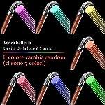 Rovtop-Soffione-Doccia-Led-Doccia-di-Arcobaleno-Risparmio-Idrico-la-Desta-di-Doccia-Arcobaleno-Soffione-Doccia-Colore-del-LED-che-il-Colore-Cambia-Random